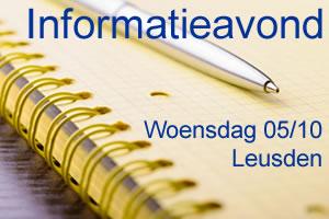 Informatieavond dyslexie en andere leerproblemen | 5 oktober 2016 | Leusden