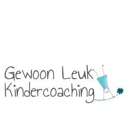 LOGO Gewoon Leuk Kindercoaching | Annamarieke Dalmulder