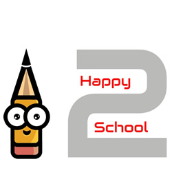 LOGO Happy2School | Anita Verdouw