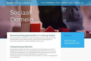 Printscreen jeugdzorg regio Limburg Noord sociaal domein