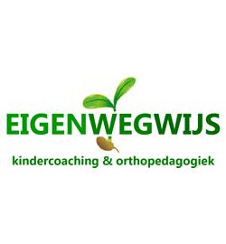 LOGO EIGENWEGWIJS kindercoaching & orthopedagogiek | Tisa Schuitemaker