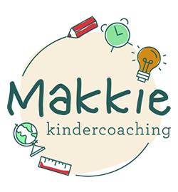LOGO Makkie Kindercoaching | Annelies van der Kleijn